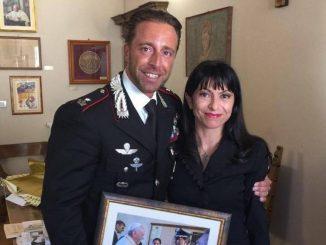 Sindaco Proietti ha salutato il Maggiore Sivori che lascia Assisi