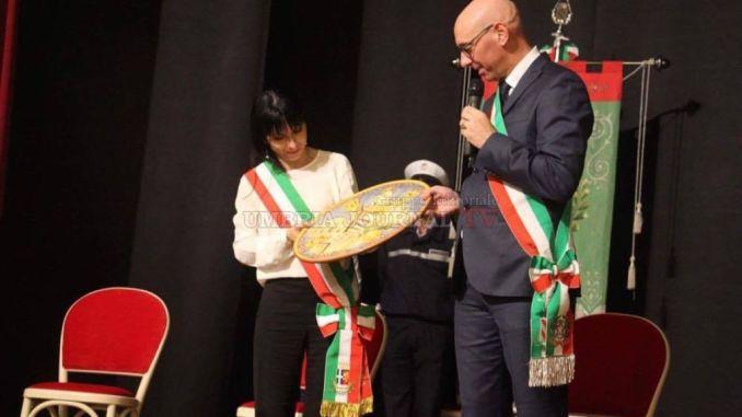 Il Sindaco di Assisi, Stefania Proietti, ospite d'onore a I Giochi de le Porte