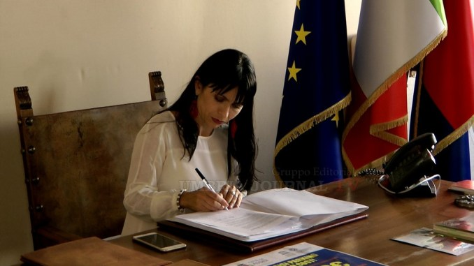 Assisi, il suo rilancio turistico, Stefania Proietti ospite di Trg Media a Gubbio