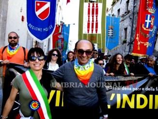 Marcia della Pace Perugia-Assisi 2016, grazie dal Sindaco Proietti