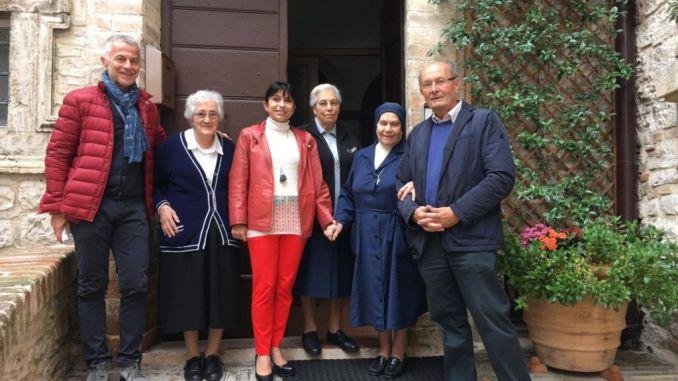 Assisi, l'amministrazione saluta le Suore Spagnole