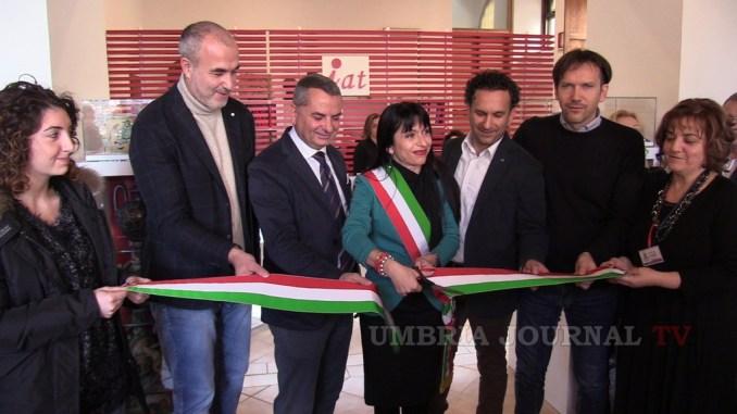 Inaugurato nuovo Ufficio Informazioni e accoglienza turistica di Assisi