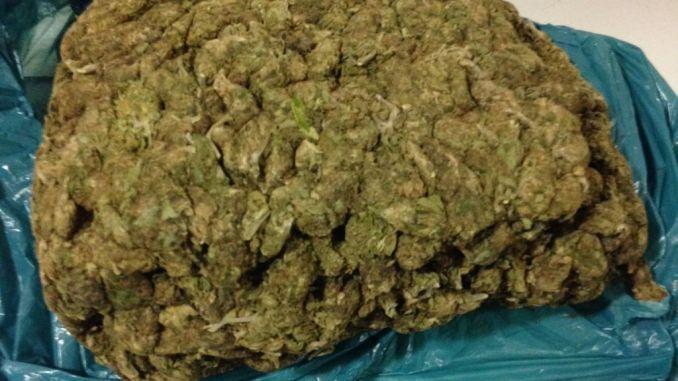 Beccato con un chilo di marijuana, fermato dai carabinieri a Rivotorto