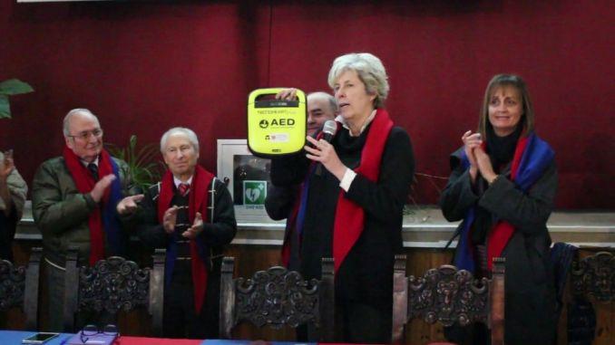 """Al Convitto Nazionale """"Principe di Napoli"""" di Assisi è stato dotato di un defibrillatore"""