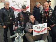 L'Umbria si rimette in moto, oggi in piazza ad Assisi un centinaio di motociclisti FOTO