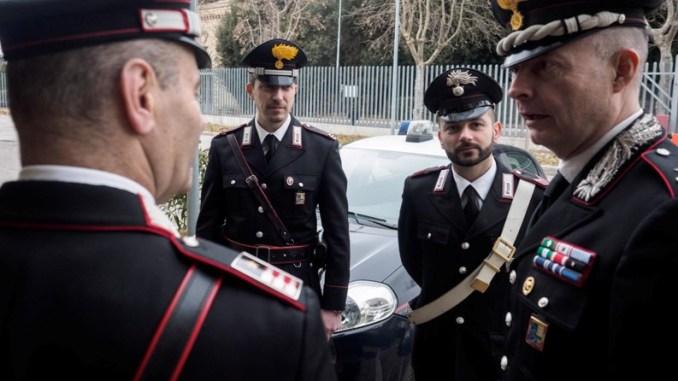 Assisi, i Carabinieri, del maggiore Marco Vetrulli, fermano un evaso