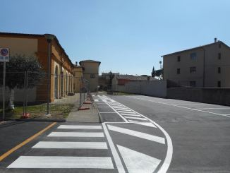 Nuovi parcheggi a Santa Maria degli Angeli 72 nuovi posti auto e 7 posti per motocicli