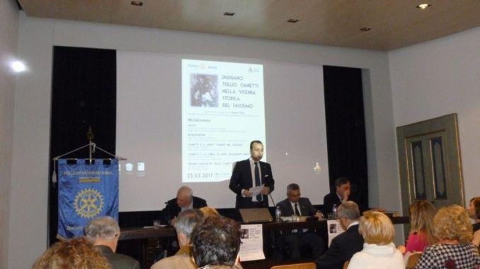 Convegno su Tullio Cianetti, Rotary Assisi riconosce espressioni impropria