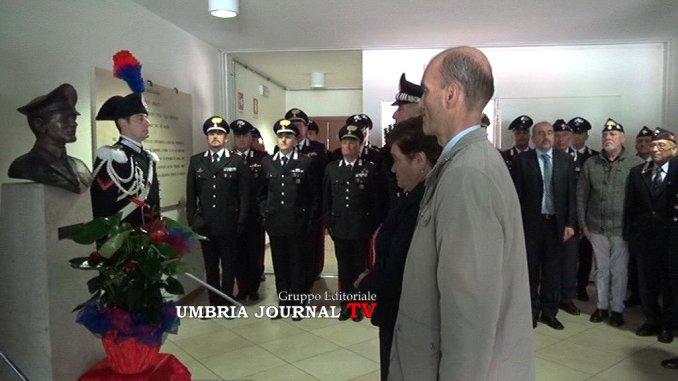 Deposta Corona Dalloro Nella Compagnia Carabinieri Di Assisi