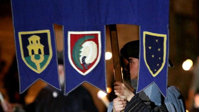 Calendimaggio 2017 Assisi, la Parte De Sopra e la sua storia di sestiere