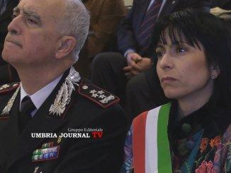 Ricordo Carabiniere Renzo Rosati, Sindaco Proietti, era una figlio della Montagna di Assisi