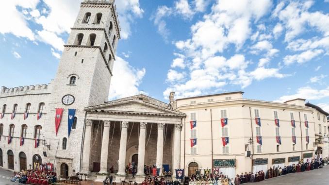 Il Calendimaggio di Assisi adotta il criterio della prudenza