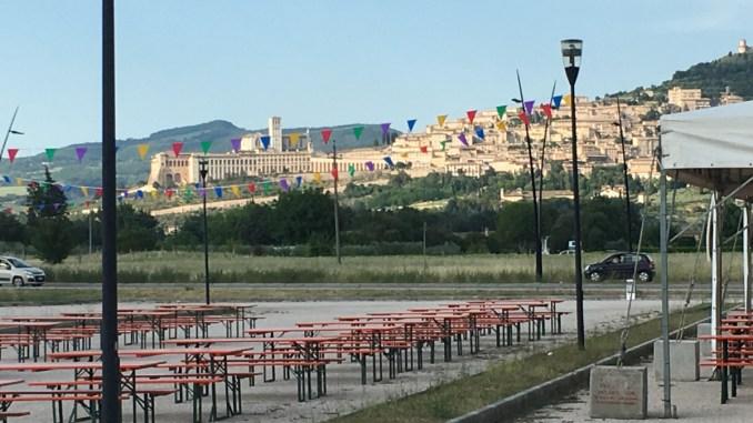 Tenore e organo per In Cammino verso Assisi Pax Mundi