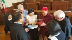 Assisi, l'amministrazione accoglie una delegazione buddista di Taiwan