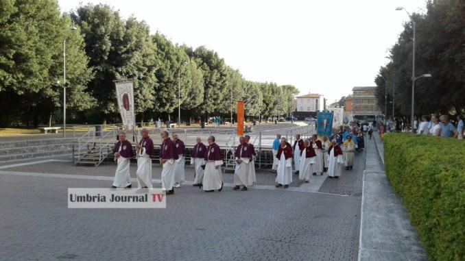 Festa del Perdono, pellegrinaggio alla Porziuncola di Santa Maria degli Angeli [VIDEO]