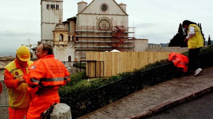 Assisi, venti anni dal sisma del 1997, il programma delle iniziative
