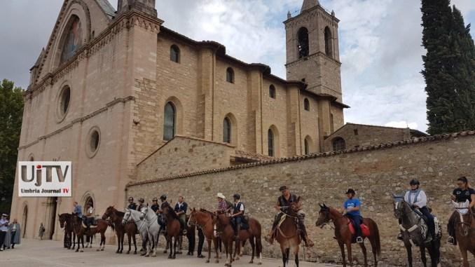 Rivotorto di Assisi, ha preso il via la cavalcata di Satriano
