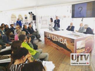 Cortile di Francesco Assisi, Claudio Ricci, una svolta culturale per l'Umbria
