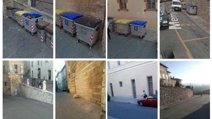 Differenziata porta a porta, Centro Storico di Assisi più bello e pulito