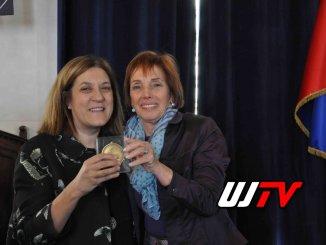 """Premio fondazione """"Peres center for peace"""" a Catiuscia Marini"""