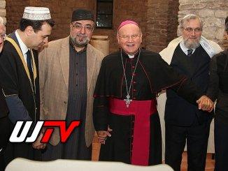 Capi Religiosi a pregare per la pace al Santuario della Spogliazione, Assisi