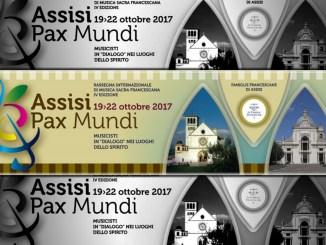350 i coristi e gli strumentisti ad Assisi Pax mundi