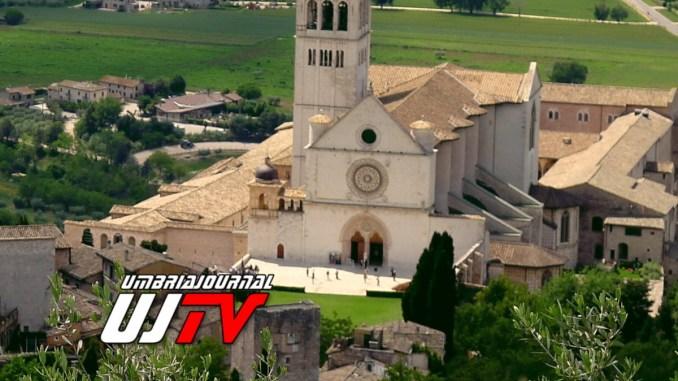 Frati di Assisi, tutti connessi con Meraviglie d'Italia di Alberto Angela