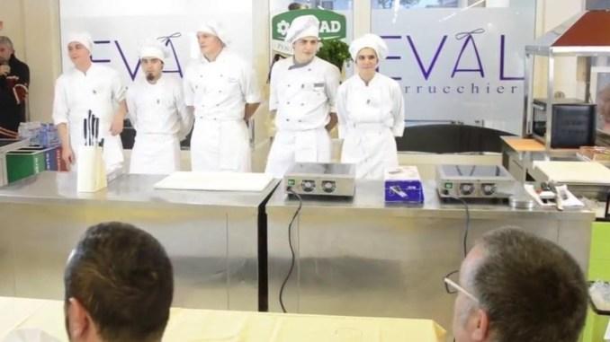 Sfida ai fornelli tra studenti dell'Istituto alberghiero di Assisi