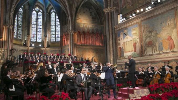 Fresu e Sumi Jo a concerto di Natale, Merkel ad Assisi in primavera