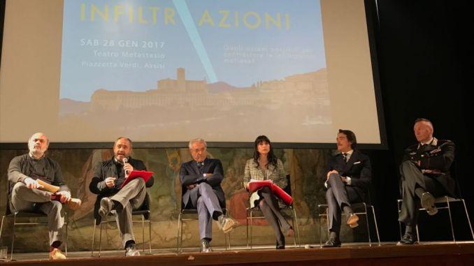 Nuova sede polizia Locale Assisi e firma protocollo legalità