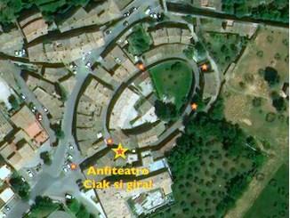 Capodanno, all'Anfiteatro di Assisi: ciak si gira, ricostruzione virtuale