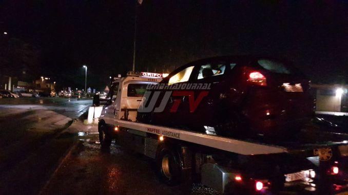 Incidente sulla 75 Centrale Umbra, scontro tra auto, nessun ferito