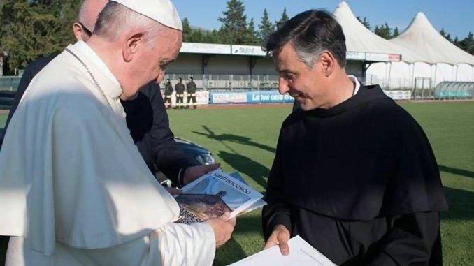 Francesco il ribelle, il libro di Enzo Fortunato sarà presentato a Roma