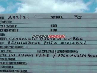 Pista ciclabile Assisi - Spoleto, intitolata al campione Gino Bartali
