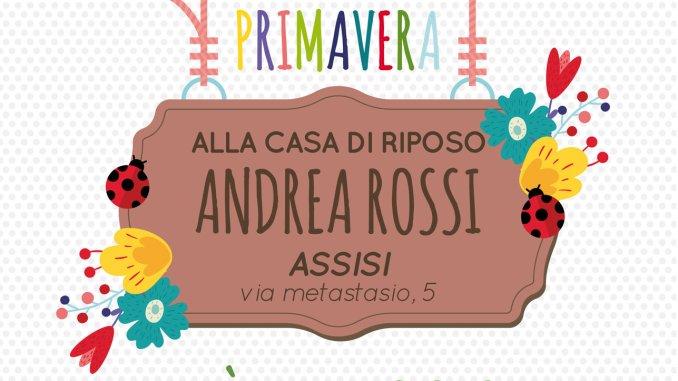 Casa di Riposo Andrea Rossi, Festa di Primavera