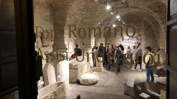 Assisi sottosopra, grande successo per il Foro di notte
