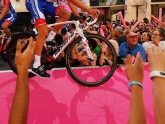Carlo Migliosi, Giro d'Italia e il dialogo tra Israele e la Palestina