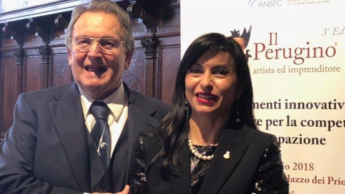 Ad Arnaldo Maniniil Premio alla Carriera Perugino, artista e imprenditore