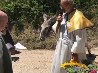 Ricorrenza della donazione del bue a Nottiano di Assisi