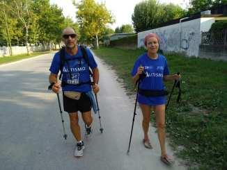 Marcia di 400 km per l'autismo, il 14 agosto tappa in Umbria