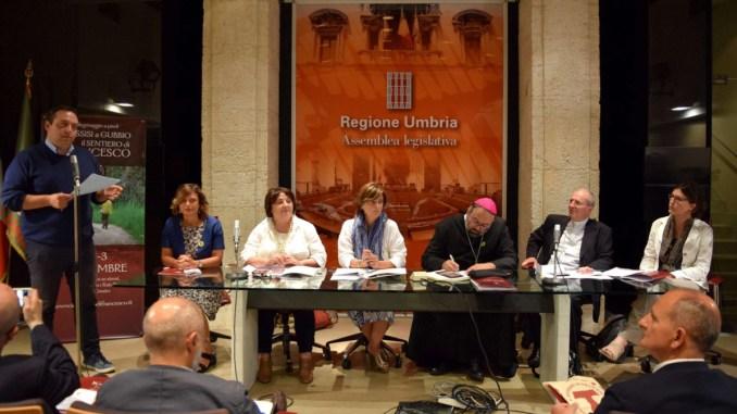 Il sentiero di Francesco Assisi Gubbio sui passi del Poverello e della solidarietà