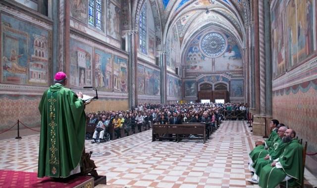 Assisi Pax Mundi concerto inauguratle con con Il Coro Città di Zurigo