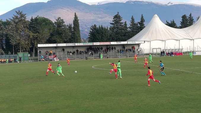 ASD Angelana 1930, eccellenza, vince la Narnese 0-1