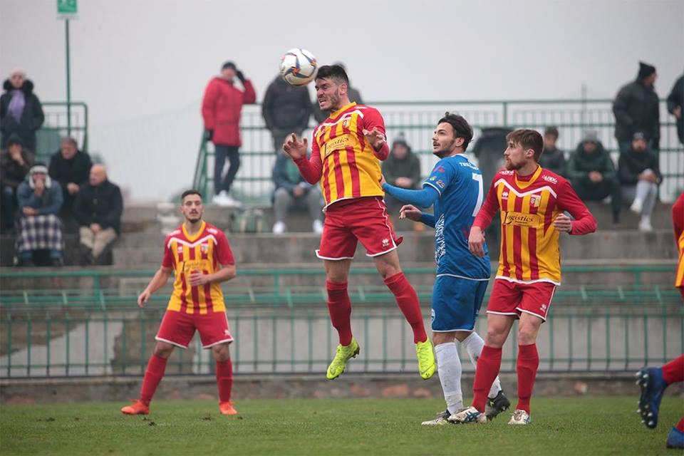Angelana calcio, Giorgio Butto, esordio di fuoco a Lama