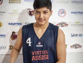 Un ragazzo dell'Ecuador alla Virtus Assisi, il giovane Juan David Castillo