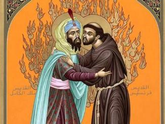 Luigi Di Maio alla presentazione del francobollo San Francesco e il Sultano