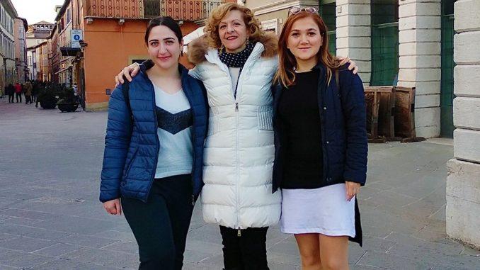 Educhange al Convitto Nazionale con 2 volontarie da Georgia e Azerbaijan