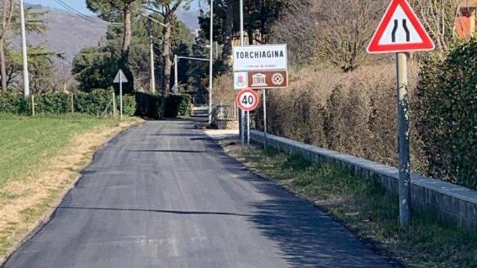 Piano strade 2, lavori a Torchiagina, Palazzo, San Vitale-Viole e Rocca Sant'Angelo