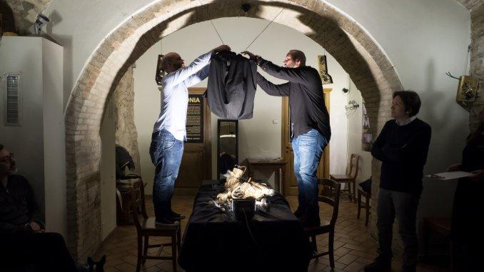 Ucronia open preview progetto made in Assisi al Lyrick giorno di Sgarbi