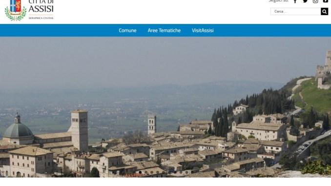 Nuovo sito del Comune di Assisi, ecco chi sono i visitatori online